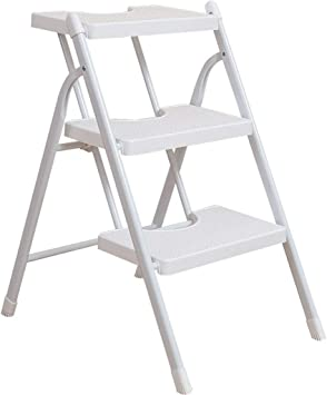 AINIYF Taburete con escalera Taburete plegable ligero con escalones Taburete plegable con tres escalones Escalera Taburete con escalera interior: Amazon.es: Bricolaje y herramientas
