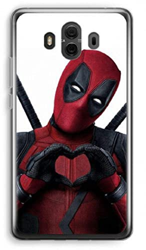 best service 8b057 cdef3 Amazon.com: Inspired by Deadpool cell phone case Huawei mate 10 20 ...
