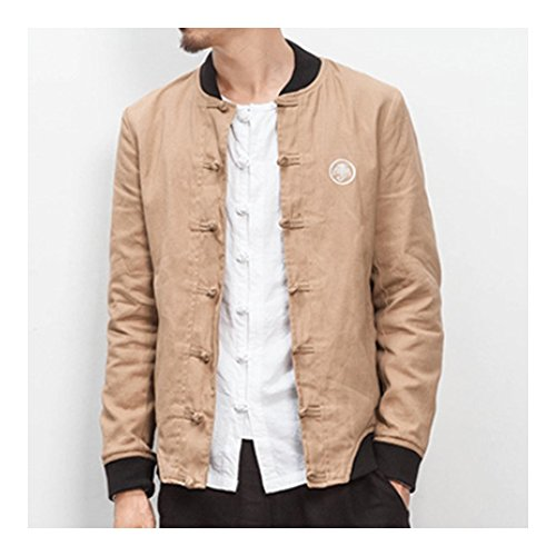 para Kangzy chaqueta Chaqueta hombre Manga Larga n0Aqz