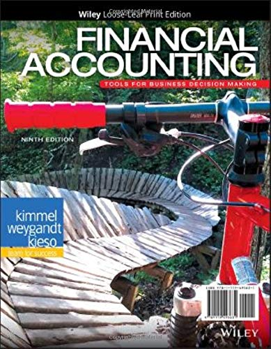 Financial Accounting, Loose-Leaf: Tools for Business Decision Making