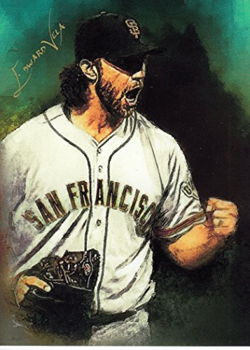 Madison Bumgarner #5 - #10/25 - VERY RARE! - WORLD SERIES - San Francisco Giants - Limited Edition Original Artwork Sketch Card