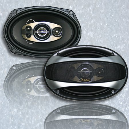 "NEW Pair Pulsar Electronics Pe69.4 6x9"" 500w Car Audio Speak"
