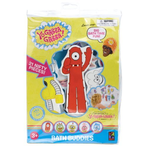 Yo Gabba Gabba Bath time Fun Bath Buddies]()