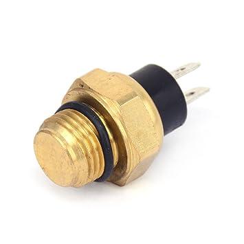 Fast Pro Termostato de ventilador de radiador con sensor de temperatura del agua para GY6 250