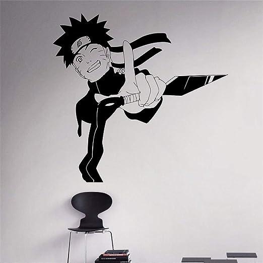 Naruto Tatuajes de Pared Manga Japonesa Etiqueta de Vinilo de ...