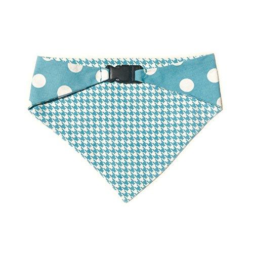 Pup Bandana (Uptown Pups Reversible Bandana Classic Baby Blue (Small))
