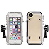 Extreme Action Sports Touch 170 Degrees Wide Angle Lens Waterproof Case for iPhone 6 Plus/6s Plus