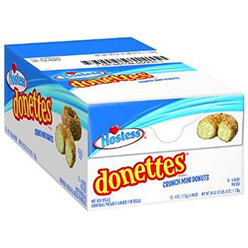 Product Of Hostess, Donettes Mini Crunch Donut, Count 10 (4 oz) - Cakes & Muffins / Grab Varieties & Flavors