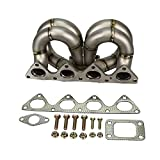 Rev9(HP-MF-B16-T3-11G-38) T3 Turbo Manifold, T304