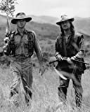 #1: Michael Douglas and Val Kilmer in The Ghost and the Darkness with rifles 16x20 Poster