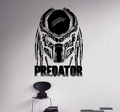 Predator Movie Wall Decal Cosmic Monster Wall Vinyl Sticker Horror Film Home Interior Removable Decor Custom Decals 19(avp)