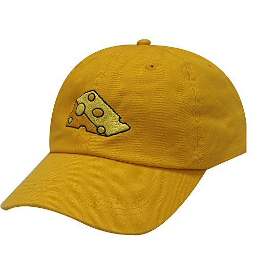 - City Hunter C104 Cheese Cotton Baseball Dad Caps 16 Colors (Gold)
