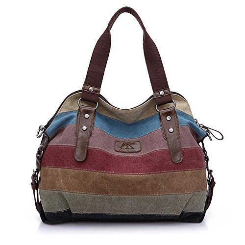 Retro Canvas Hobo Top Handle Cross Body Bag Tote Handbags Leisure Canvas Top Handle Cross Body Bag Tote Handbags for Women