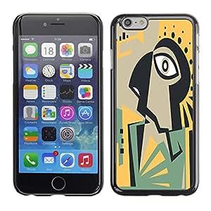 Dragon Case - FOR iPhone 6 - I am a slow walker - Caja protectora de pl??stico duro de la cubierta Dise?¡Ào Slim Fit