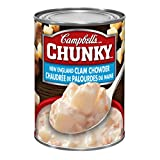 Campbell's Chunky New England Clam Chowder Soup, 540ml