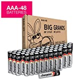 Energizer AAA Batteries, Triple A Battery Max Alkaline E92DP2-24 (48 count)