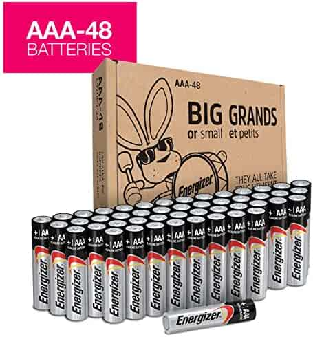 Energizer MAX Alkaline AAA Batteries, 48 Pack