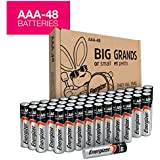 Energizer AAA Batteries, Triple A Battery Max Alkaline E92DP2-24 (48 count)