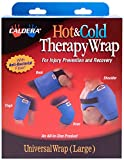 CALDERA Universal Therapy Wrap - Relief For Muscles, Joints, and Soreness Form Sports-Related Injuries (Includes Reusable Therapy Gel Pack, Size LARGE)
