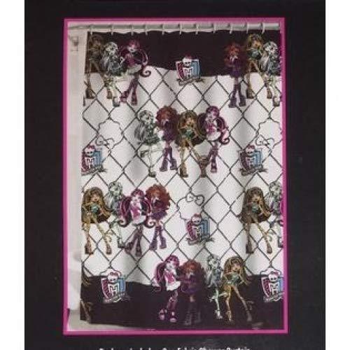 Monster High Fabric Shower Curtain