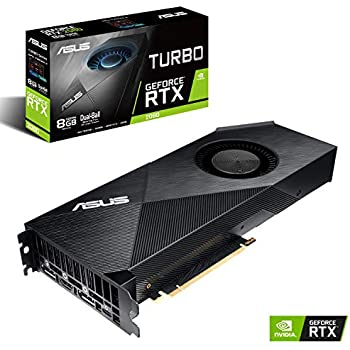 ASUS GeForce RTX 2080 8G Turbo Edition GDDR6 HDMI DP 1.4 USB Type-C Graphics Card (TURBO-RTX2080-8G)