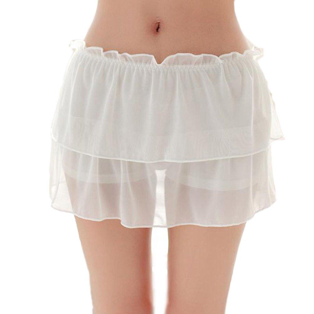 Women Safety Lace Pants Shorts Under Skirt Ladies Safety Breathable Underwear QIANDUOO