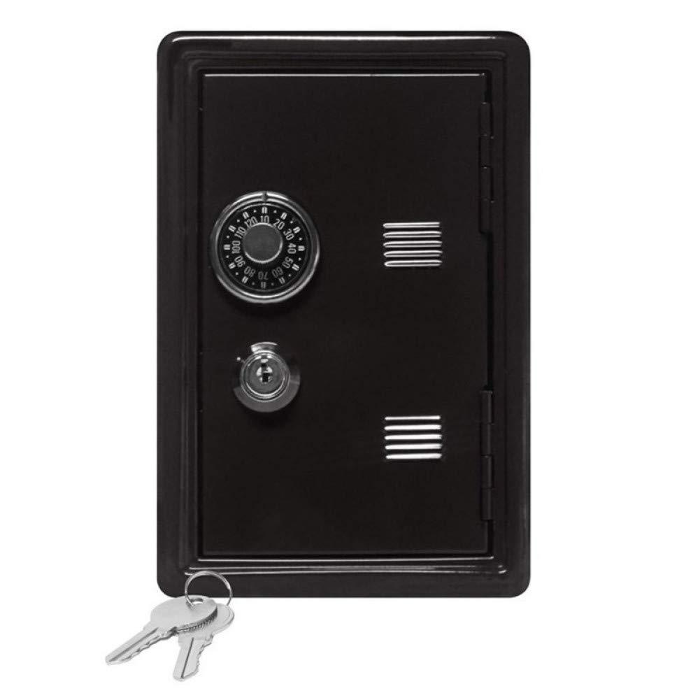 GOLD liu Creative Piggy Bank Mini ATM Money Box Password Digital Coins Cash Deposit Children New Year Gift Saving Safe Box Security by GOLD liu