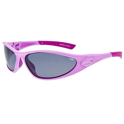 Goggle Sonnenbrille Sportbrille mit polarisierenden Scheiben E335-1P kgpEkU