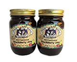 Amish Wedding Foods Old Fashioned Blackberry Jam All Natural 2 - 18 oz. Jars