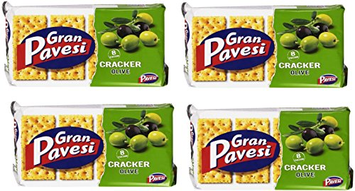 gran-pavesi-i-craker-olive-cracker-with-olive-250g-pack-of-4-italian-import-