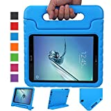 NewStyle Samsung Galaxy Tab S2 9.7 Shockproof Case Light Weight Kids Case Super Protection Cover Handle Stand Case for Kids Children for Galaxy Tab S2 9.7-inch Tablet SM-T810 SM-T815 (Blue)