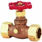 stop and waste valve - B & K 105-614NL 296565 Lead Free Stop & Waste Valve 3/4