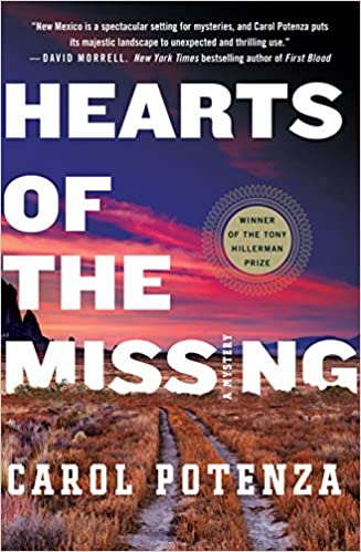 Carol Potenza signs HEARTS OF THE MISSING @ The Poisoned Pen | Scottsdale | Arizona | United States