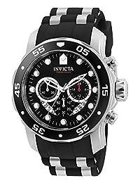 Invicta 6977 Pro Diver Collection - Reloj cronógrafo para hombre (esfera negra, poliuretano)