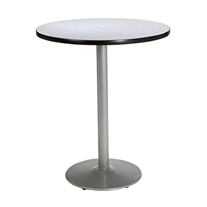 Round Bar Height Pedestal Table   42u0026quot; DIA Dimensions: 42u0026quot;H X  42u0026quot
