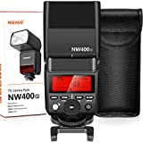 MSD 2.4G HSS 1/8000s TTL GN36 Wireless Master Slave Flash Speedlite for Sony A7 A7R A7S A7II A7RII A7SII A6000 A6300 A6500 A77II A58 A99 RX10 Cameras with Hard Diffuser (NW400S)