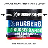 RubberBanditz Pull Up Assistance Resistance Band, 7 Different Exercise Bands | 5-200 lbs. Tension Bands: Mobility, Stretching, Pilates, Chin Ups Assist, Powerlifting, Functional Fitness & CrossFit Review