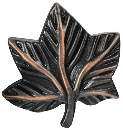 Knob Deals #2857 - Ivy Leaf Knob, Oil-Rubbed Bronze - 10 Pack