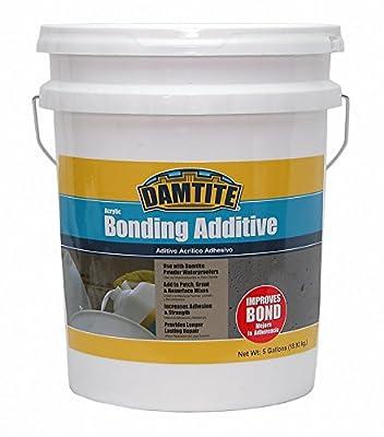 Damtite 05500 Acrylic Bonding Additive, 5 Gallon