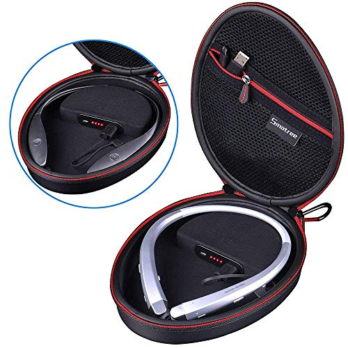 Smatree Charging Case Compatible with LG Tone HBS-900 / HBS-760 / HBS-910 / HBS-750 / HBS-800 / HBS-1100 / HBS-730/HBS 920/HBS 930 Bluetooth Wireless Stereo Headset (Headphone NOT - 730 Hbs Lg