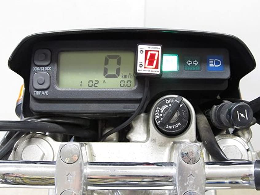 師匠シリングひいきにするプロテック(PROTEC) シフトポジション インジケーター SPI-K62 Ninja400R[ニンジャ](EBL-ER400B 11-) 11059
