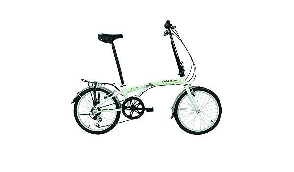 Dahon SUV D6 Bicicleta Plegable Mixta, Color Frost Blanc, Tamaño ...