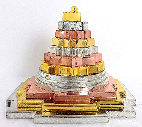 Arts Polished Brass (Sri meru yantra 4X4
