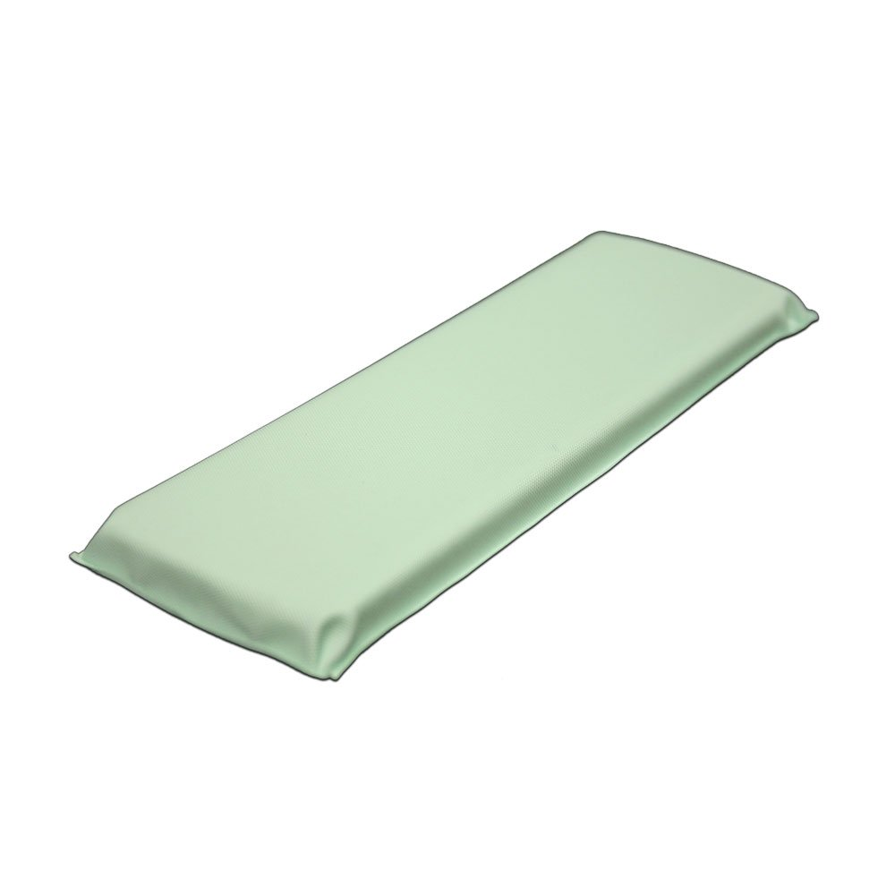 PDC Healthcare 48505-15-MPN Arm Board, Reusable, Vinyl, Infant, 3 1/2'' x 9'', Light Green (Pack of 24)