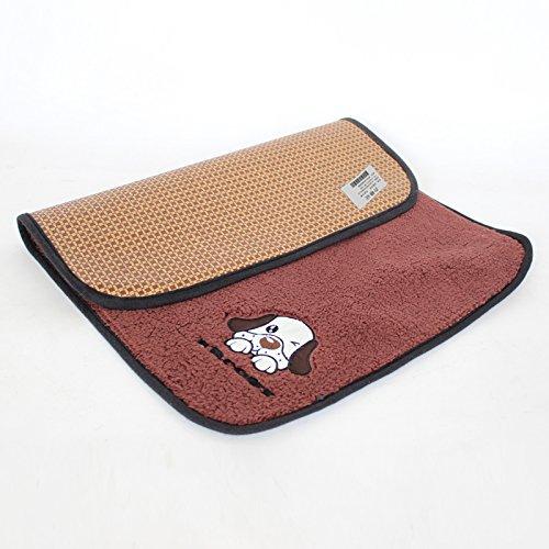 Brown L brown L Summer Mattress Mat Summer Dog House Mat Ice Mat Cat Cushion Sleeping Mat Cushion Skid Proof Brown L