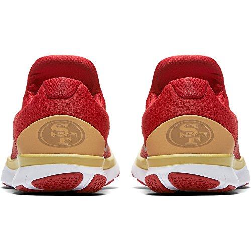Zapatillas Nike San Francisco 49ers Gratis Trainer V7 Nfl Collection - Talla Para Hombre 11 Us