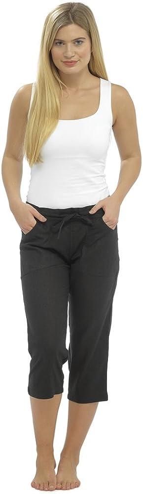 Pantalon Lino Mujer Verano CityComfort Pantalones De Lino Mujer Verano Pantalones De Lino para Mujer con Cintura El/ástica Ropa Lino Mujer Bermudas Mujer Verano 2019