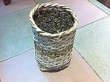 Pu Erh black tea unfermented, Grade A 2000 gram in bamboo basket packing