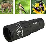Outdoor & Sports,Dartphew 1Pcs Fashion Super High Power 16X52 Portable HD Night Vision Monocular Telescope- Single hand operation-Powerful-Ultra-Lightweight(Cool Black)