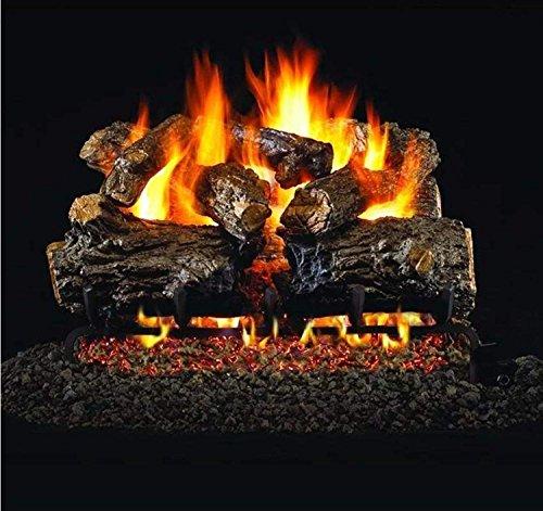 (RealFyre Burnt Rustic Oak Vented Gas Logs (HCHR-30),)